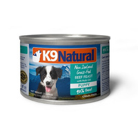 K9 Natural Puppy Beef & Hoki Oil 170g x 24 cans