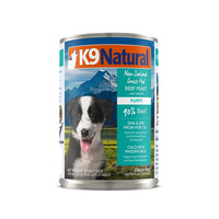K9 Natural Puppy Beef & Hoki Oil 370g x 12 cans