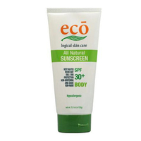ECO All Natural Sunscreen 100g - Body SPF 30+