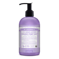 Dr Bronner's Organic Lavender Hand & Body Pump Soap - 355ml