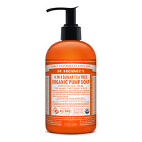 Dr Bronner's Organic Tea Tree Hand & Body Pump Soap - 355ml