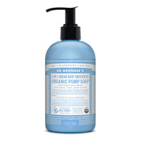 Dr Bronner's Organic Baby Mild Hand & Body Pump Soap - 355ml