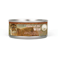 Taste Of The Wild Canyon River FELINE formula with Trout & Salmon in gravy 24 x 156g cans