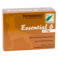 Essential 6 for small dogs 0-10kg - short dated BB 07/17