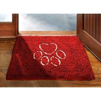 Dog Gone Smart Dirty Dog Doormat - Small Maroon