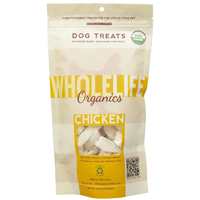 Whole Life Freeze Dried Organic Chicken Dog Treats 2.8oz (79 grams)