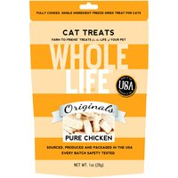 Whole Life Freeze Dried Pure Chicken Cat Treats 1oz (28 grams)