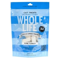 Whole Life Freeze Dried Pure Turkey Cat Treats 1oz (28 grams)