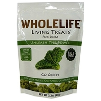 Whole Life Living Treats for Dogs Go Green (Kale) 65g