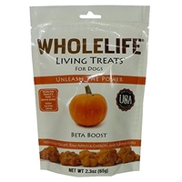 Whole Life Living Treats for Dogs Beta Boost (Pumpkin) 65g