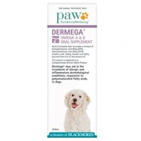 PAW Dermega Omega 3 and 6 Oral Supplement 200ml