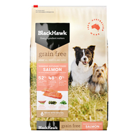 Black Hawk Dry Dog Food Grain Free Salmon 15kg