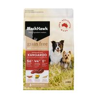 Black Hawk Dry Dog Food Grain Free Kangaroo 2.5kg