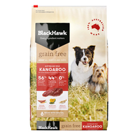Black Hawk Dry Dog Food Grain Free Kangaroo 15kg