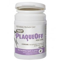 Troy PlaqueOff for Cats 40g