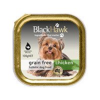 Black Hawk Grain Free Canned Dog Food Chicken 100g x 12