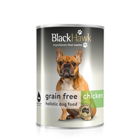 Black Hawk Grain Free Canned Dog Food Chicken 400g x 12 cans