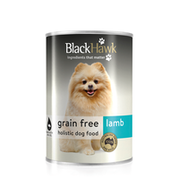 Black Hawk Grain Free Canned Dog Food Lamb 400g x 12 cans