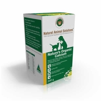 Natural Animal Solutions Nature‰Ûªs Organic Calcium 200g