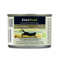 ZiwiPeak 'Daily-Cat' Cuisine Beef - 170g can