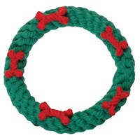 Dog Rope Toy - Holiday Ring