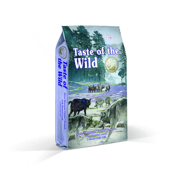 Taste of the Wild Sierra Mountain CANINE with Roasted Lamb 6kg