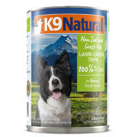 K9 Natural Lamb Green Tripe 370g x 12 cans