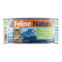 Feline Natural Chicken and Lamb Feast 85g x 24 cans