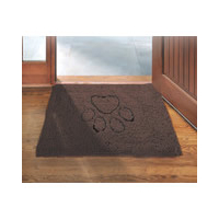 Dog Gone Smart Dirty Dog Doormat - Medium Brown