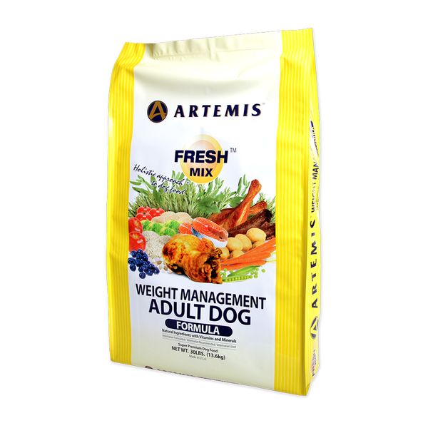 Artemis Fresh Mix Weight Management Dry Dog Food 13.6kg