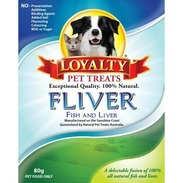 Loyalty Pet Treats Fliver 80g