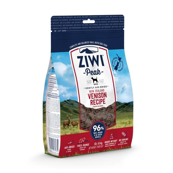 Ziwi Peak Air-Dried Venison For Dogs - 454g